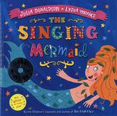 【麥克書店】THE SINGING MERMAID  /英文繪本附CD