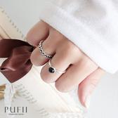 限量現貨◆PUFII-戒指 麻花配單顆圓形雙戒指-0323 現+預 春【CP18209】