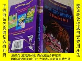 二手書博民逛書店a罕見handful of horrid henry:一群可怕的亨利:Y200392