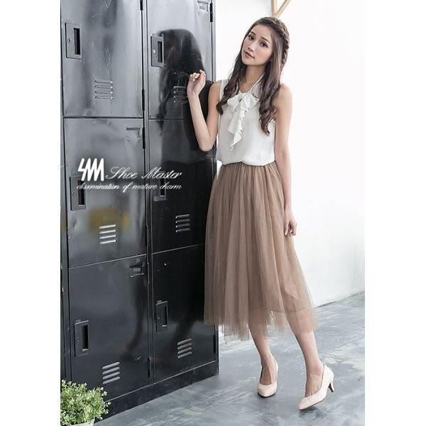 【SM】台灣製真皮系列-簍空性感蕾絲尖頭細跟鞋(粉色)