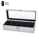 鋁合金 手錶收藏盒 收納盒 展示盒 飾品盒 Stoner Design -5格