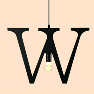 HONEY COMB 復古風英文字母吊燈 W版 TA0082