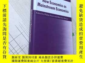 二手書博民逛書店New罕見Economics as Mainstream Eco