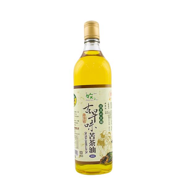 牧馬-古早味苦茶油600ml/罐