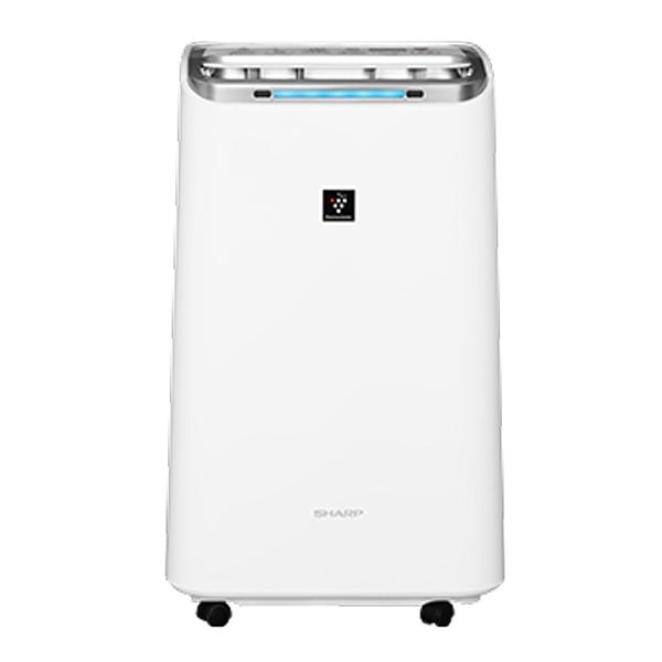 【SHARP夏普】10.5L自動除菌離子空氣清淨除濕機 DW-L10FT-W