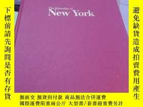 二手書博民逛書店紐約的人行道罕見the sidewalks of new yor