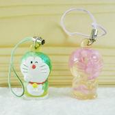 【震撼精品百貨】Doraemon_哆啦A夢~造型透明吊飾-綠/粉【共2款】