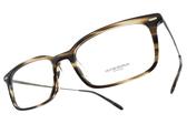 OLIVER PEOPLES 光學眼鏡 WEXLEY 1612 (流線棕-槍) 簡約紳士款 方框眼鏡 # 金橘眼鏡