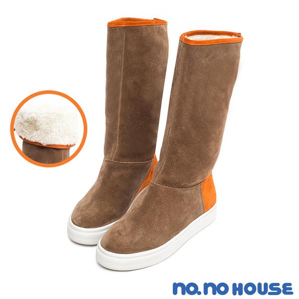 休閒靴 自在玩美2way真皮休閒靴(咖) * nonohouse【18-3518co】【現貨】
