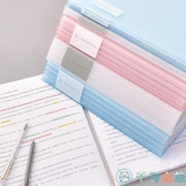透明a4大容量卷子紙夾子整理分類收納袋文件夾多層【千尋之旅】