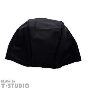 《T-STUDIO拉拉購物網》 百搭酷色泳帽   (黑)