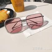 情侶時尚太陽眼鏡學生潮流墨鏡復古百搭個性 艾莎