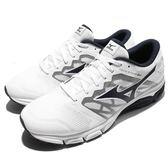 Mizuno 慢跑鞋 Synchro MD 2 白 黑 網布透氣 運動鞋 男鞋【PUMP306】 J1GE171818