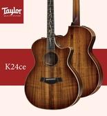 【非凡樂器】Taylor K24ce /美國知名品牌電木吉他/公司貨/全新未拆箱/加贈原廠背帶/公司貨保固