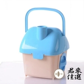 手提倉鼠外帶籠子塑膠手提籠別墅運輸盒迷你【君來佳選】