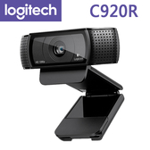 【免運費】 Logitech 羅技 C920R HD Pro 網路攝影機 / 最高 1920 x 1080 / 20 段自動對焦 /WIN10