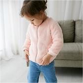 羊羔絨保暖外套 兒童外套 素面 雙面穿 男寶寶 女寶寶 保暖 厚外套 寶寶外套 Augelute 60204