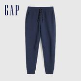 Gap男裝 簡約風格純色寬鬆式針織褲 608027-海軍藍