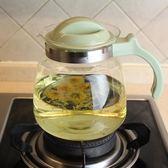 冷水壺 耐高溫玻璃水壺 可直燒涼水壺涼水杯 茶壺 果汁壺 大容量