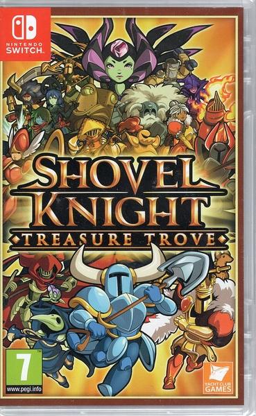 【玩樂小熊】現貨 Switch遊戲 鏟子騎士 無價之寶 Shovel Knight 中文版