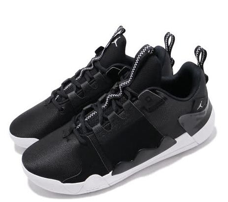 NIKE JORDAN ZOOM ZERO GRAVITY PF男款 籃球運動鞋 黑白-NO.AT4030001