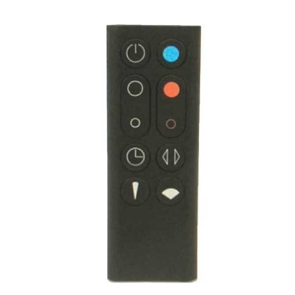 [107美國直購] dyson Am09 黑色遙控器 remote controller, black/nickel
