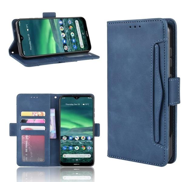諾基亞 Nokia 2.3 多卡槽 錢包款 手機殼 磁釦 Nokia2.3 掀蓋 保護殼 翻蓋皮套 支架插卡 手機套