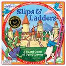 eeBoo 美國益智桌遊 Slips & Ladders 龜兔競賽