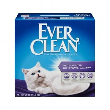 【Ever Clean】藍鑽結塊貓砂-25磅(11.3kg)-綠標