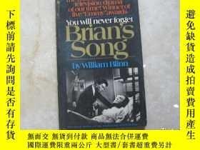 二手書博民逛書店William罕見Blinn:Brians Song (Screenplay) You Will Never Fo