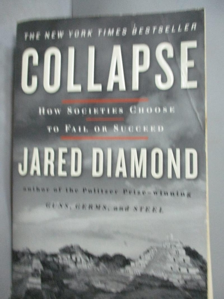 【書寶二手書T6/社會_GGR】Collapse-How Societies Choose to Fail or Suc