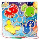 【磁性運筆迷宮-海洋生物】遊戲盤 識 智慧 益智 桌遊 趣味 禮物 露營 感覺 統合 桌遊 手眼 協調