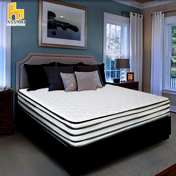 ASSARI-凱薩琳加厚五線3M防潑水強化側邊獨立筒床墊(單大3.5尺)