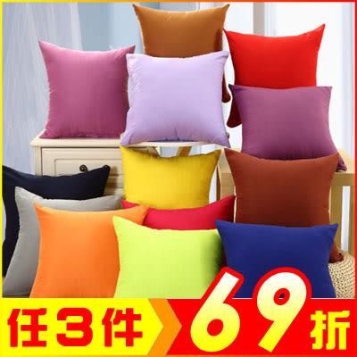 加厚超柔珍珠棉抱枕 沙發靠墊 午睡枕 椅背靠枕【AE03112】i-Style居家生活