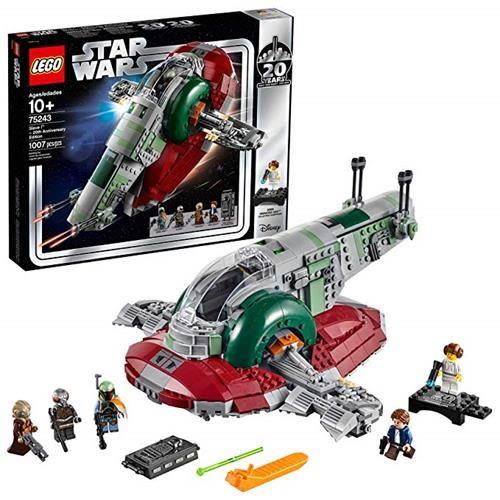 LEGO 樂高 Star Wars Slave I-20th Anniversary Edition 75243 Building Kit (1007Piece)