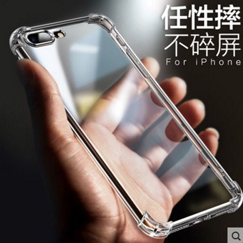 【SZ14】iphone 8 plus手機殼 透明亞克力四角防摔 iphone XS max XR XS 6s 7 8 plus手機殼