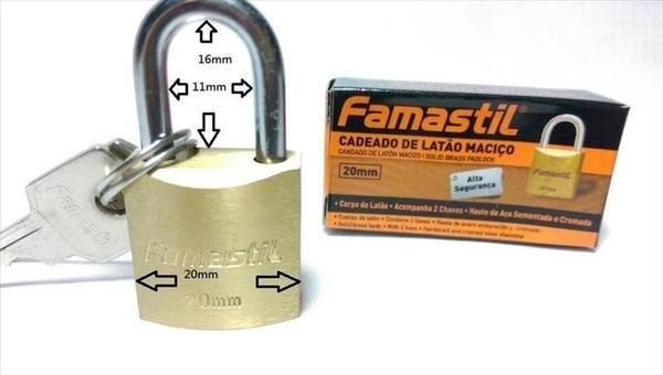 【大特價↓20mm 銅鎖】銅掛鎖 一字鎖 門鎖 行李箱鎖 鎖頭【八八八】e網購