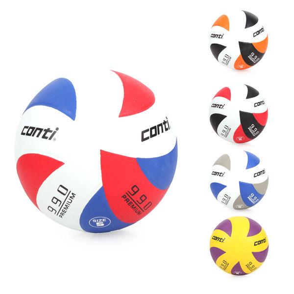 conti 5號頂級超世代橡膠排球 黃紫 F