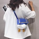 可愛帆布包包女新款個性卡通學生單肩小布包潮ins百搭斜挎包 【快速出貨】