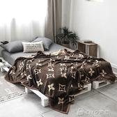 雙層毛毯被子加厚珊瑚絨毯子北歐簡約冬季保暖床單法蘭絨單人雙人 ciyo黛雅