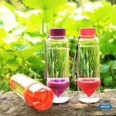 便攜杯創意榨汁檸檬杯夏季便攜隨手防漏水果杯可愛學生韓國女塑料水杯子