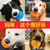 狗狗玩具球發聲大型犬金毛泰迪狗咬球耐咬磨牙訓練球寵物用品 優家小鋪