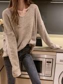 打底衫女秋冬2019新款韓版寬鬆內搭薄款毛衣長袖針織上衣洋氣t恤