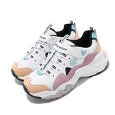 Skechers 休閒鞋 D Lites 3.0-Zenway II 白 粉紅 女鞋 大童鞋 運動鞋 【PUMP306】 80444LWPKB