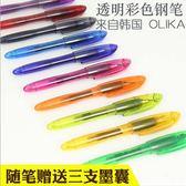 【筆紙膠帶】新彩 鋼筆 透明外殼 鋼筆