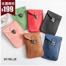 斜背包-質感渲染壓紋手機小包-共6色-(特價品)-A17171561-天藍小舖