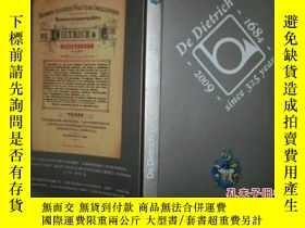 二手書博民逛書店法漢對照De罕見Dietrich(1694-2009 since 325 years)德地氏 傳承325年歷史 1