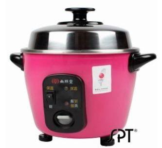 尚朋堂 3人份養生不鏽鋼電鍋 粉紅色 SSC-055RD ★6期0利率↘