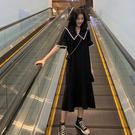 大碼洋裝夏裝2020年新款桔梗法式連身裙...