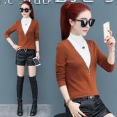 秋冬季打底衫女長袖2020新款韓版女士加絨上衣半高領內搭洋氣t恤